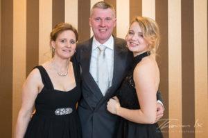 Olympiasieger Andreas Dibowski mit Frau Susanna und Tochter Alina (Foto: Thomas lx)
