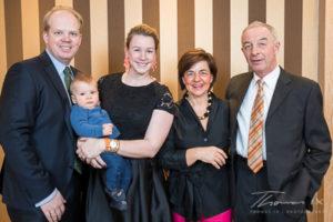 Bundestrainer Hans Melzer mit Frau Anne und Familie Bolten (Foto: Thomas lx)